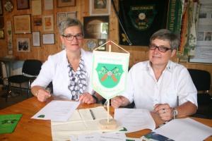 Unterzeichner der Kooperationsvereinbarung: Michael und Swinda Eggert